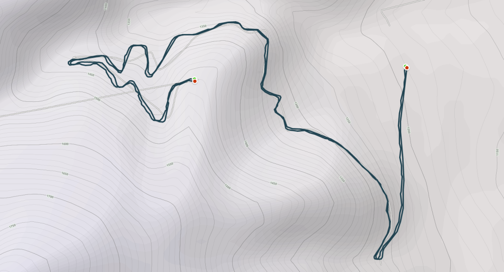GPS Route of the Ride