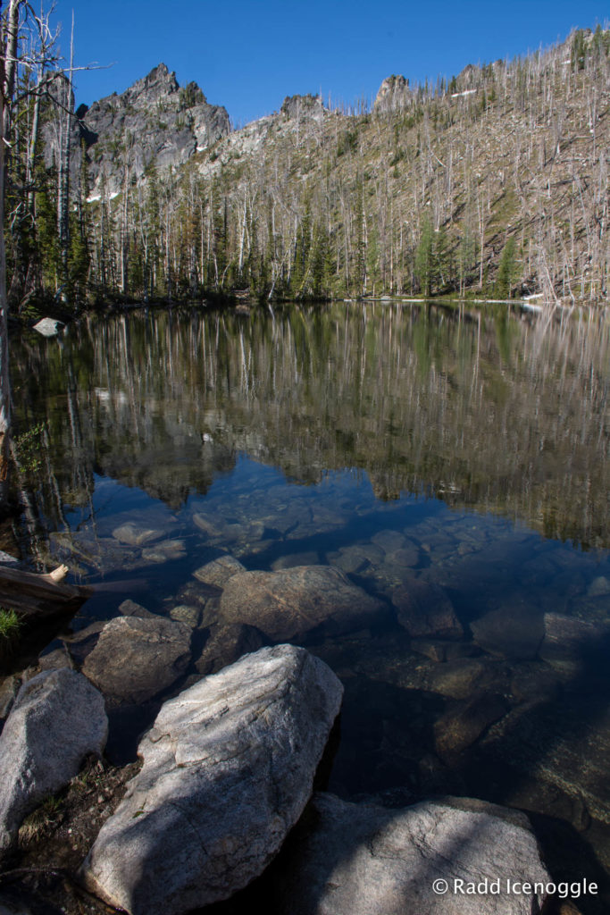 The clear waters of Glen Lake