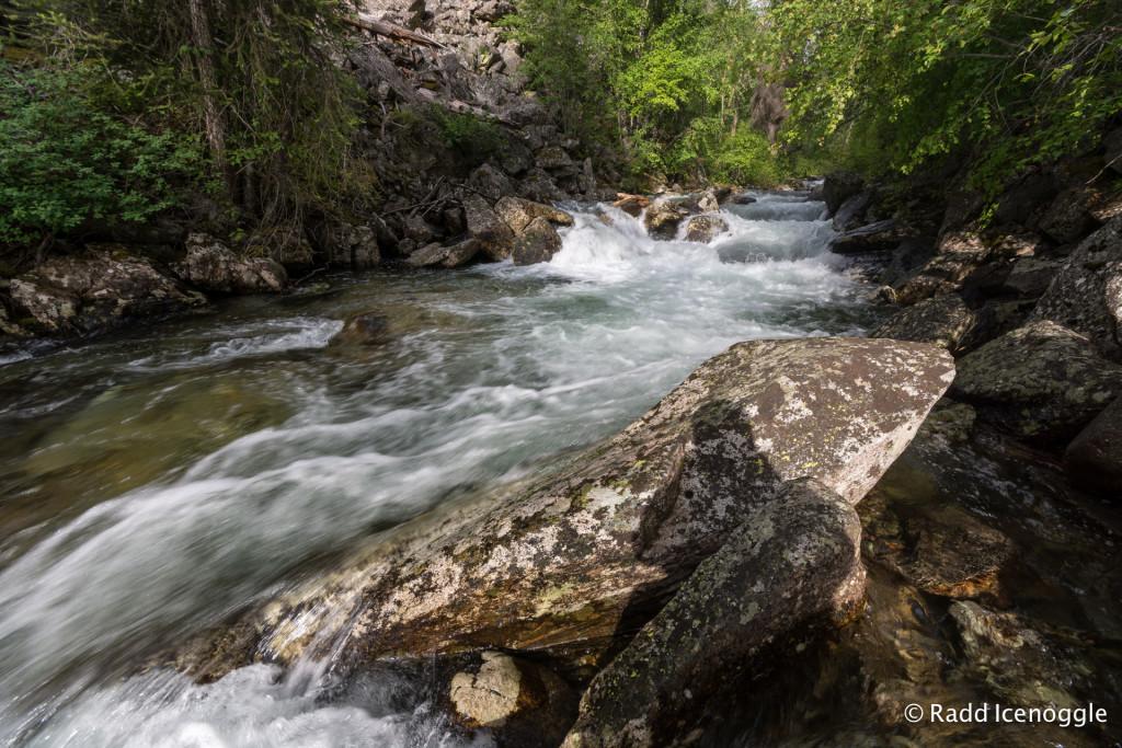 Kootenai Creek and granite