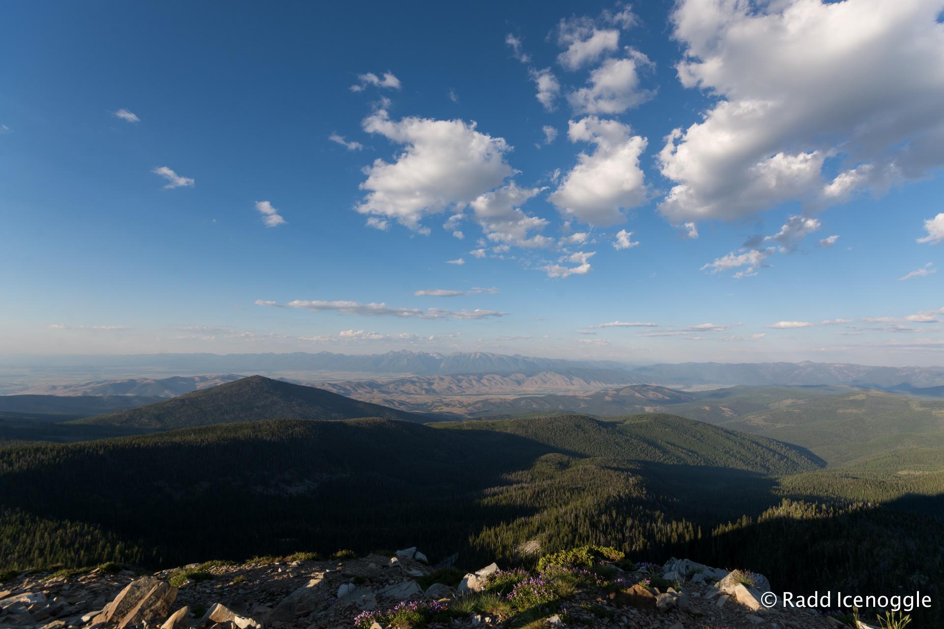 Mission Range from Ch-paa-qn Peak