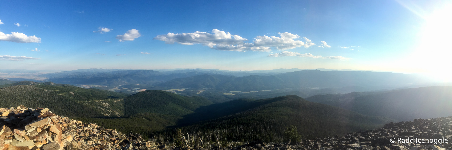 Looking west from Ch-paa-qn Peak