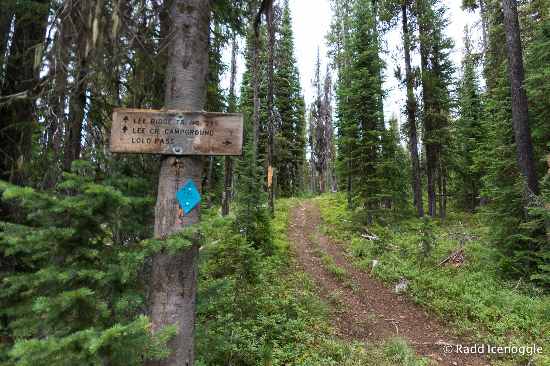 Lee Creek Trailhead