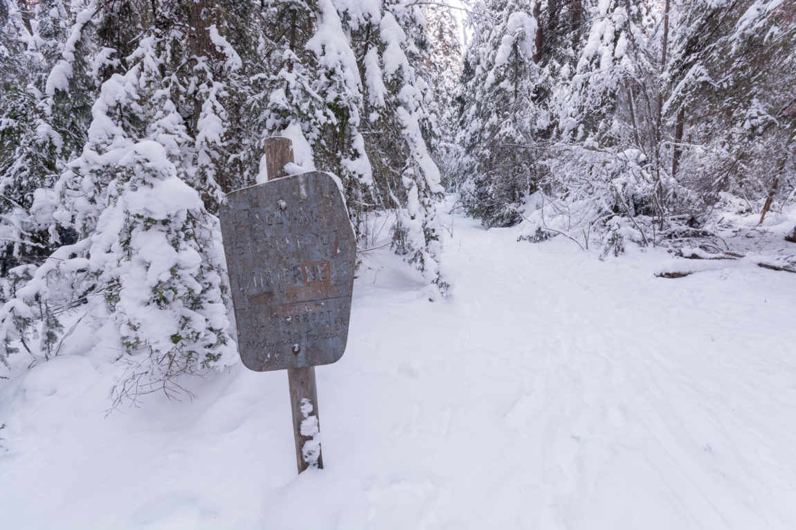 Selway-Bitterroot Wilderness Area boundry