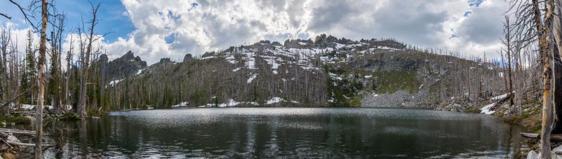 Glen Lake in the Bitterroot Mountains