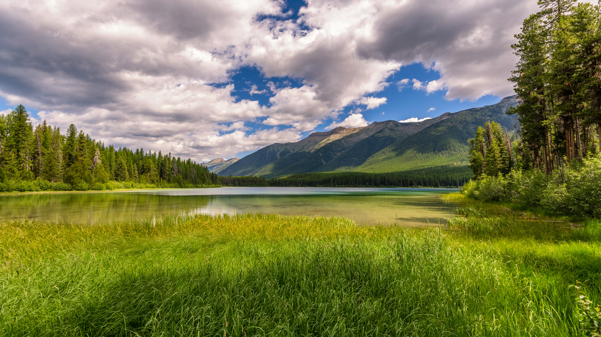 Clearwater Lake and the Swan Range