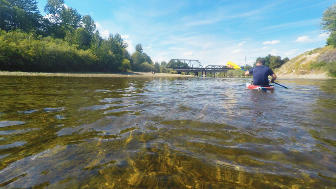Buckhouse Bridge - the endpoint