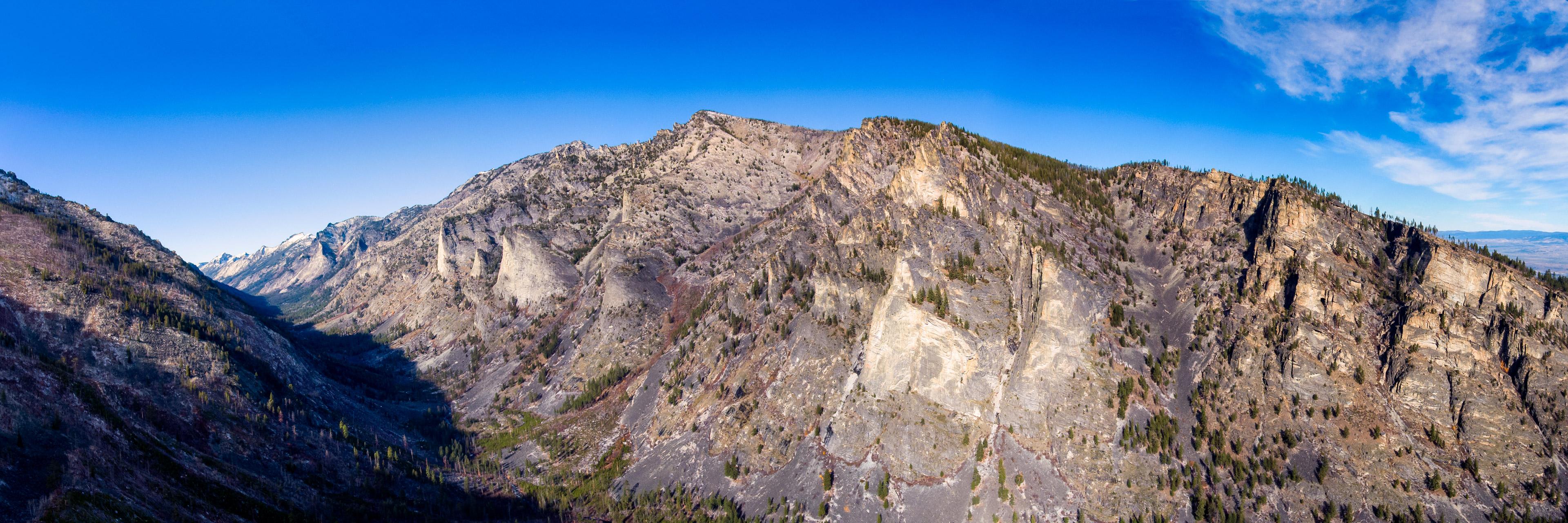 Blodgett Canyon and its granite walls