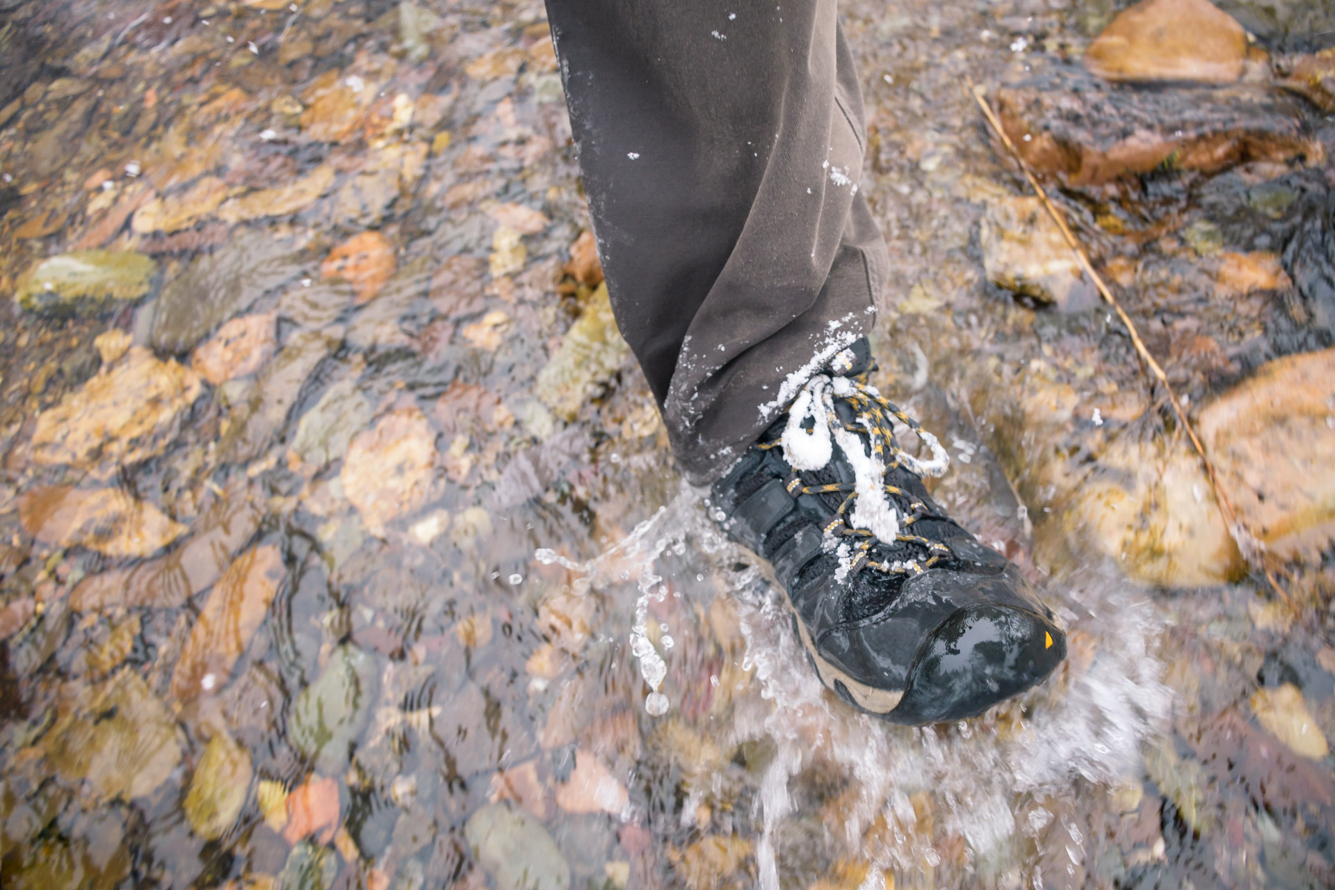 Waterproof boots...you betcha!