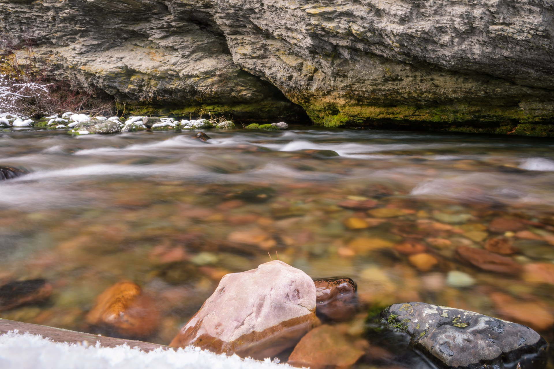 Long exposure on Rattlesnake Creek