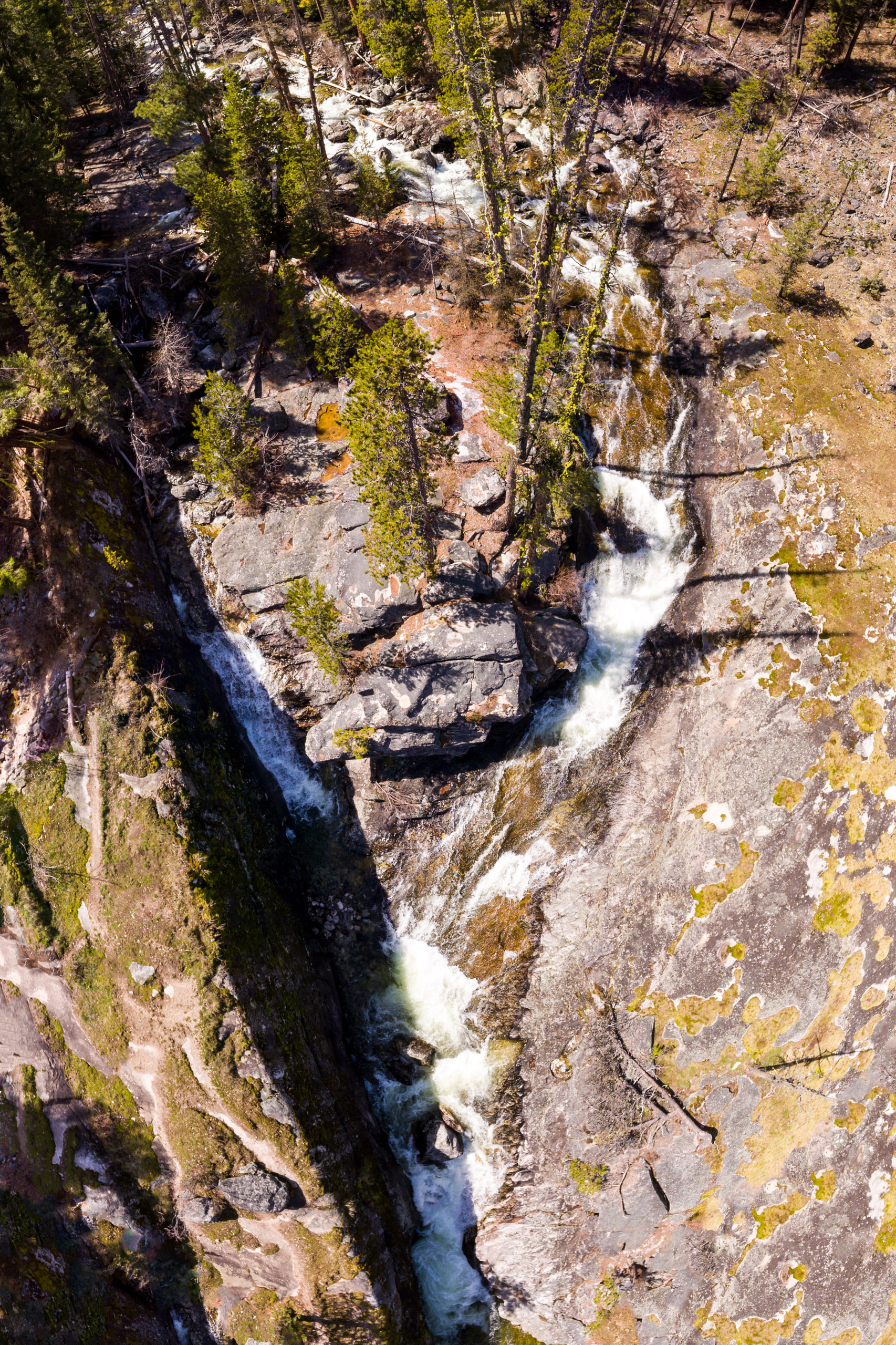 Bear Creek Falls from high above...ever seen this view?