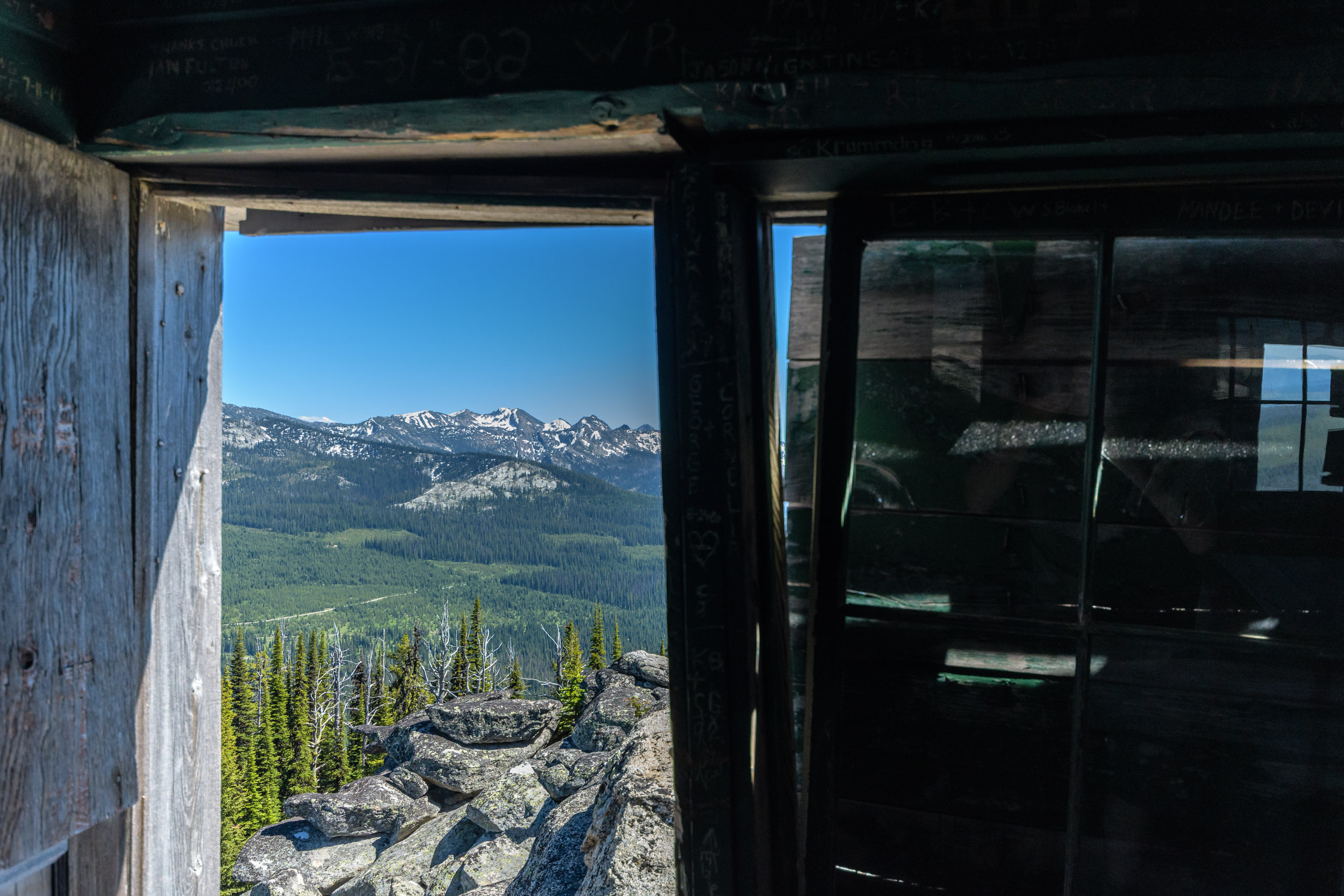Now that is a cabin view
