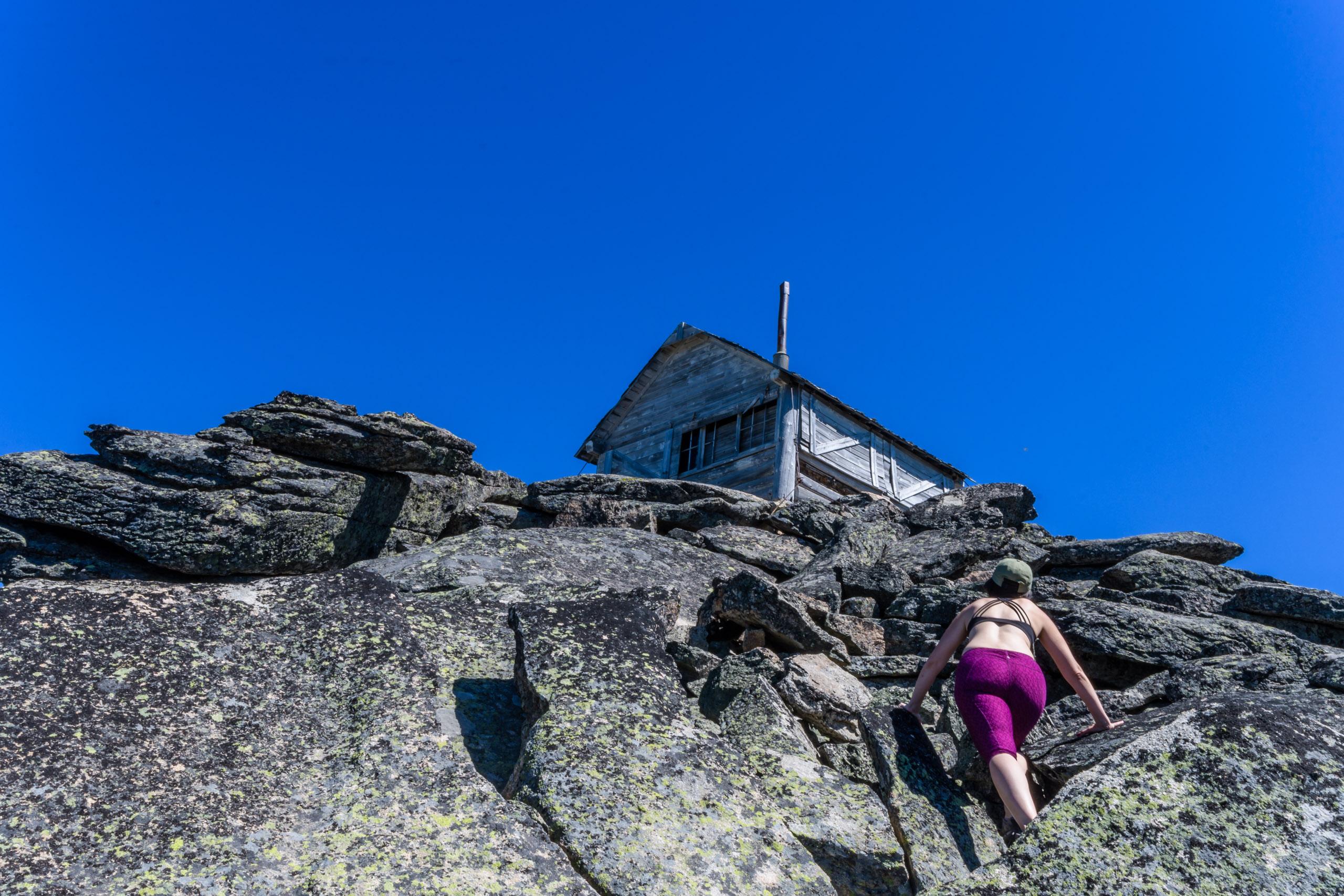Vida Rz, the climber