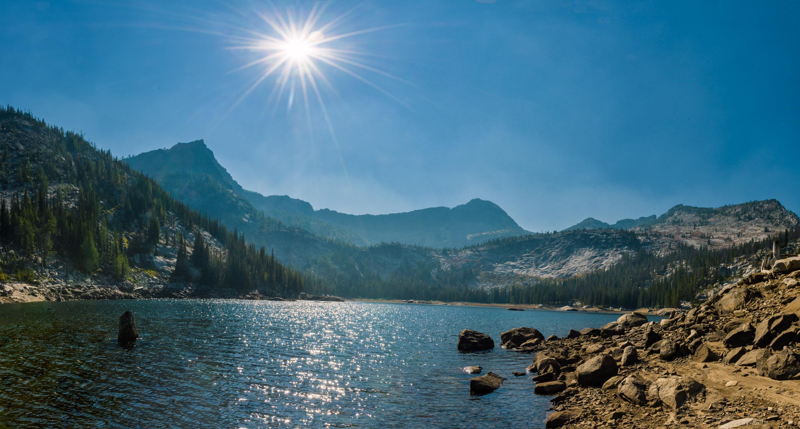 Canyon Lake was drawn down considerably