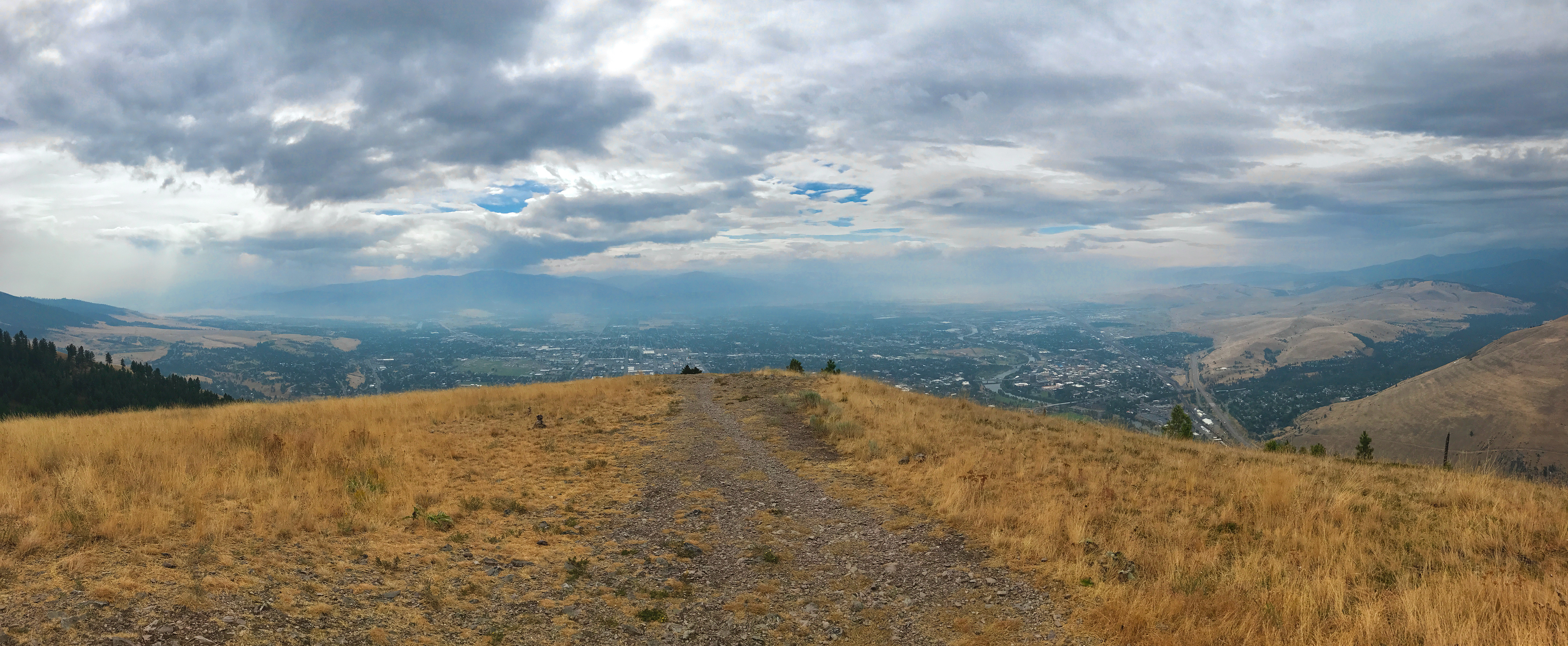 Missoula from Mount Sentinel